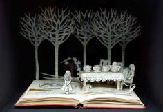 Alice in Wonderland (from Paper Cutting by Chronicle Books)
