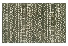 Patras Rug, Moss/Charcoal, Versatile Foundations