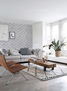 Interieur inspiratie | Scandinavisch bohemian - Woonblog StijlvolStyling.com by SBZ Interieur Design (beeld esta home)