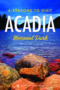 Maine's Acadia National Park is acres of geological features that include mountains, an ocean shore, lakes and woodlands. Here's 6 facts you might not know about this beautiful national park! Time to go back! Oh The Places You'll Go, Places To Travel, Places To Visit, Camping Places, New Hampshire, Rafting, Vermont, Ocean Shores, Acadia National Park