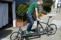 WTB Rad People Who Ride: Trystan Cobbett and his carbon cargo bike Car Repair Service, Auto Service, Cheap Motorcycles, Cargo Bike, Fat Bike, Cycling Bikes, Bicycle, People, Bellingham Washington
