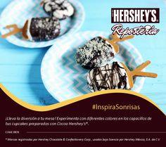 #InspiraSonrisas con Hershey's® Repostería. #Hersheys #Chocolate #Repostería #Postres #Receta #DIY #Bakery #Pastel