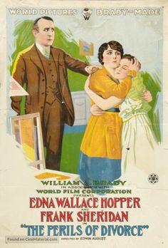 The Perils of Divorce (1916) Stars: Edna Wallace Hopper, Frank Sheridan, Macey Harlam ~ Director: Edwin August