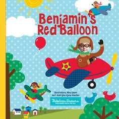 Personalized Book for Boys The Red Balloon by FabuloosDreams