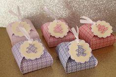 Handmade gift boxes  Favor boxes Scatoline confetti bomboniera