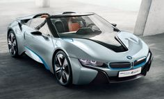 BMW i8 Concept Spyder -- BMW is doing things right again. After the bland 3 Series restyle I was worried. #RoadandTrack