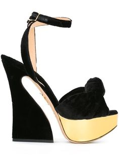 c184fec1e4b64 CHARLOTTE OLYMPIA 'Vreeland' sandals. #charlotteolympia #shoes #sandals  Ankle Wrap Sandals. Ankle Wrap SandalsBlack ...