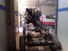 Toyota Hilux SR 3.0 Rally Dakar Mendoza San Juan Argentina