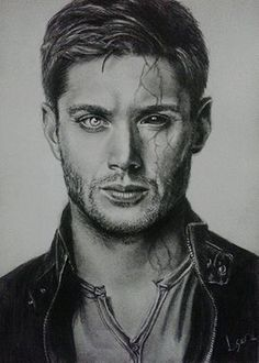 Winchester by Lucas Andrade Drawing cm 2015 by Lucas Andrade Photorealism Realism Paper Performing Arts Celebrity People drawing desenho dean winchester supernatu. Dean Winchester, Winchester Brothers, Supernatural Drawings, Supernatural Fan Art, Supernatural Wallpaper, Photorealism, Destiel, Superwholock, Fangirl