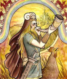Heimdall by UnripeHamadryad.deviantart.com on @DeviantArt