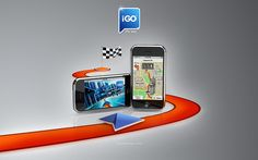 iGO My way is a state of the art turn-by-turn GPS Navigation for the iPhone with outsanding 3D graphics     magic