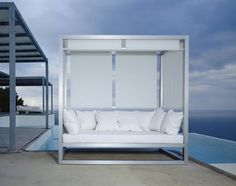 Contemporary Sofa / Garden / Aluminum / 3 Seater AL FRESCO By José A.