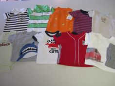 Baby Boy Clothes 3 M Months 11 pc Lot Gap Tommy Hilfiger Little Me #Assorted