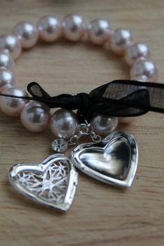 Pink Delight  Charm Bracelet by WensanteSparkles on Etsy.
