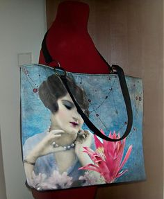 For women by Hyndus Sid Art. Fabric Pictures, Mixing Prints, Mixed Media Art, Vintage Fashion, Scrapbook, Shop, Painting, Women, Painting Art