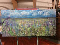 Field of flowers Aquarium, Paintings, Flowers, Goldfish Bowl, Paint, Aquarium Fish Tank, Painting Art, Aquarius, Painting