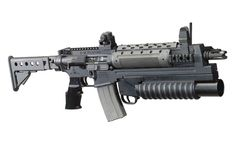 37mm Launcher. When bullets just aren't enough