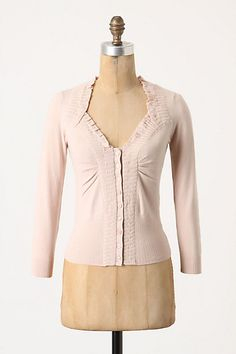 beautiful cardi, can dress up with soft scarf, lovely necklaces, lace, and more! #type2