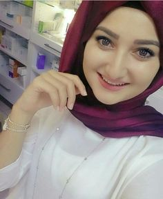 Arab Girls Hijab, Muslim Girls, Hijabi Girl, Girl Hijab, Beautiful Muslim Women, Beautiful Hijab, Hijab Collection, Muslim Beauty, Islamic Girl