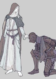 Dark Souls III: Ashes of Ariandel, Friede and Sir Vilhelm