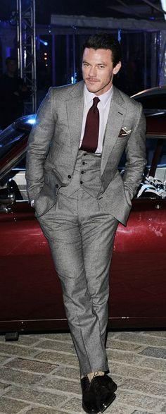 irresistible handsome man