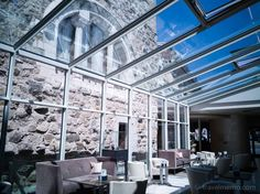 Having heard quite a bit about hotel Château d'Ouchy over the years, I'd always wanted to spend a night as a princess in that castle by Lake Geneva. Hotel Lobby, Lake Geneva, Lausanne, Switzerland, Castle, Europe, Princess, Viajes, Castles