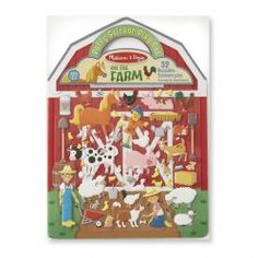 Melissa and Doug Puffy Sticker Play Set On the Farm 52 Reusable Stickers 2 FoldOut Scenes -- To view further for this item, visit the image link. Stickers, Farm Fun, Melissa & Doug, Arts And Crafts Movement, Toddler Preschool, Gifts For Girls, Book Activities, Craft Projects, Barn