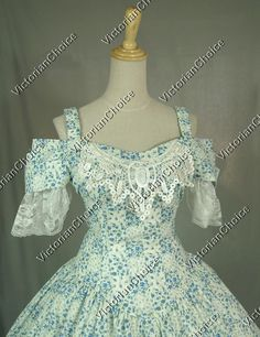 Victorian Civil War Southern Belle Dress Ball Gown Reenactment Costume - Visit to grab an amazing super hero shirt now on sale!