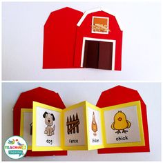Get down on the farm with this adorable pack of interactive vocabulary activities by TeachingTalking.com