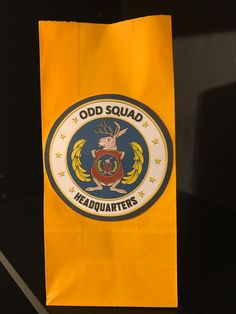 10 ODD SQUAD | Secret Agent Birthday Party Treat Goodie Favor Bags