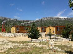 Gebetsroither Mobilheime, Typ J, Camping Nevio, Dalmatien.