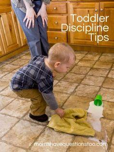 Toddler Discipline Tips Part 1 of 3