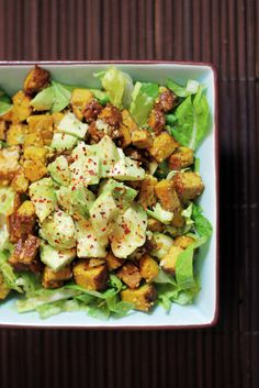 Avocado and Curry Smoked Tofu Salad - This looks awesome, except the recipe has zero details on how to prep the tofu! Someone tell me how to make smoked tofu, and I'll be in business..