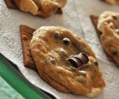 S'More Cookies  This gluten free cookies are the bomb!  I first made them a few years back for a client.  There were a few that weren't perfect that I allowed my hubby to sample. He declared them the best cookies he'd ever had.