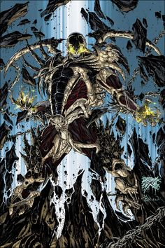 Best of The Curse of Spawn by kennethfouche Spawn Comics, Arte Dc Comics, Fun Comics, Comic Book Characters, Comic Character, Comic Books Art, Comic Art, Image Comics, Vampires