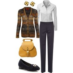 Fall casual friday by lmspowellhr on Polyvore featuring Missoni, Doublju, STELLA McCARTNEY, Red Herring, Delvaux and Lynn Chase