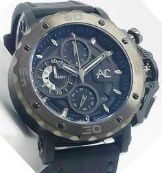 Alexander Christie - 9205 MC Chronograph Titanium Blue