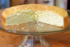 A Simple LittleCake - This is, in my opinion, what cake should look like inside--moist, crummy, and dense.