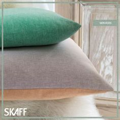 Give your furniture a brand new look with Skaff's reupholstery services!  E-mail us for more info at skaff@skaffgroup.com. #skaff #skaffgroup #fabric #trend #pillow #interior #design