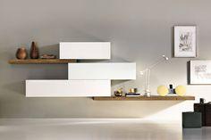 System - Design furnishing by Lago Living Room Tv, Living Room Furniture, Moderne Pools, Bathroom Wall Cabinets, Interior And Exterior, Interior Design, Modular Walls, Entryway Decor, Furniture Design
