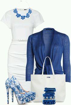 Love dress and cardigan