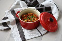 Denne ret er super lækker og kan serveres både som en vegetarret, men der kan også tilsættes kylling som også gør den super lækker.