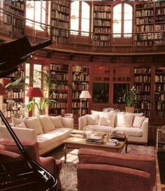 I would NEVER EVER want to leave this room...just bring in the tea and I'm set