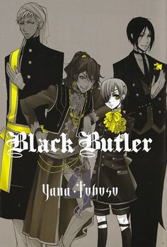 Black butler- Agni, Soma, Ciel, and Sebastian