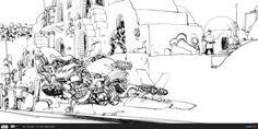 ArtStation - ILM Art Department Challenge - The Ride, Mario Alberti
