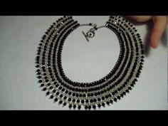 DIY Tutorial   Come realizzare un girocollo con la tecnica netted (Nefertari necklace)