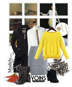 """""""YOINS"""" by anastasia-ana ❤ liked on Polyvore featuring MSGM, Chicnova Fashion, Clarks and yoins"""