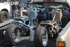 Honda Ruckus with GY6 fatty setup