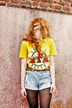 yellow Guns'n'Roses