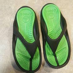 Comfy croc flip flops Croc flip flops. crocs Shoes Sandals